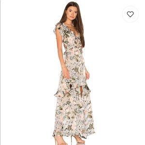 For love and lemons Luciana maxi dress